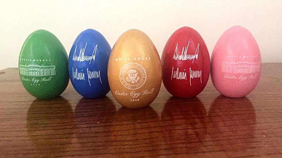 Eggstravagent The White House Gears Up For 141st Easter Egg Roll