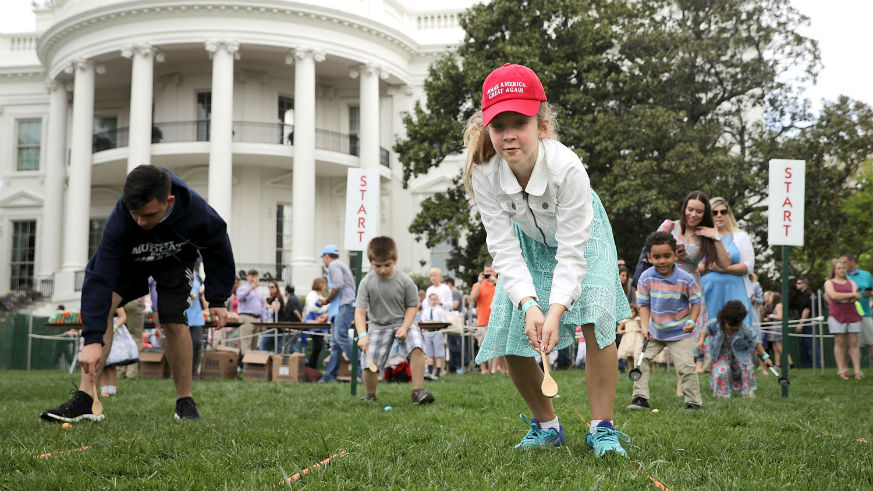EGGstravagent: The White House Gears Up For 141st Easter Egg Roll | Independent Voter News