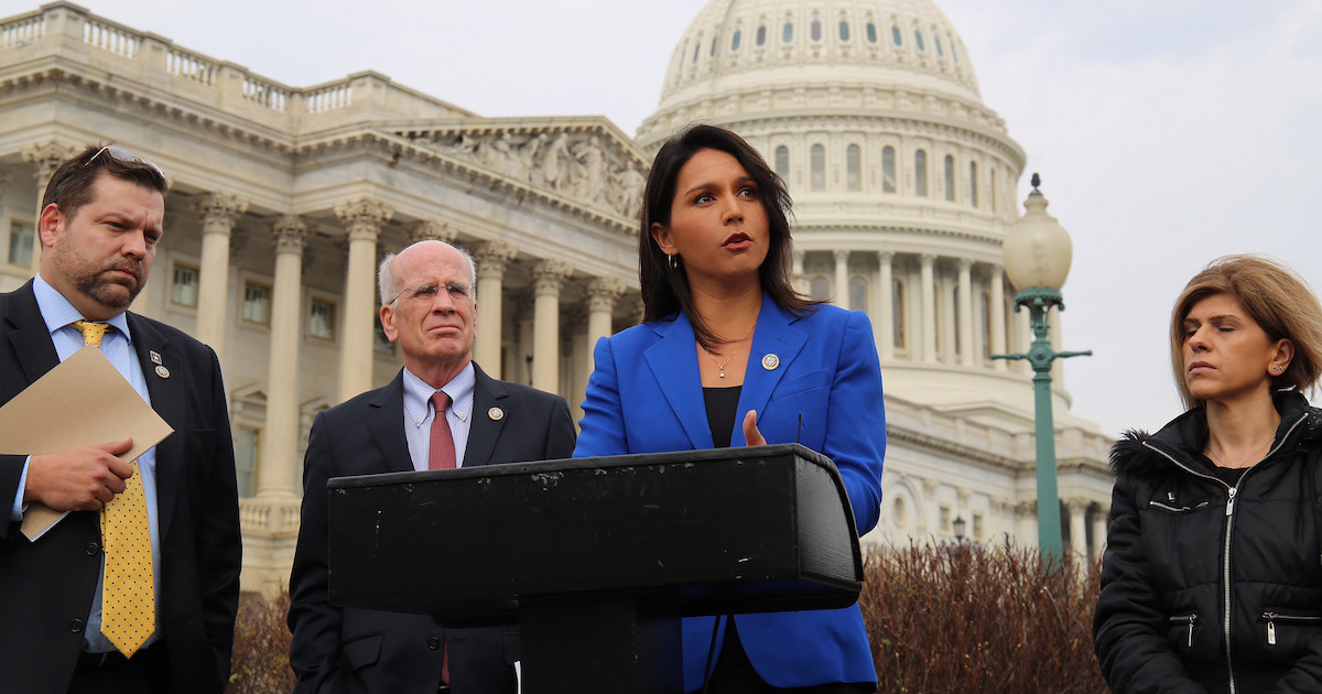 Tulsi Gabbard: US Regime Change Policies Undermine North Korea Talks | Independent Voter News