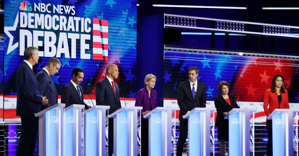 DNC Debate Exclusions Are Arbitrary and Anti-Democratic | Independent Voter News