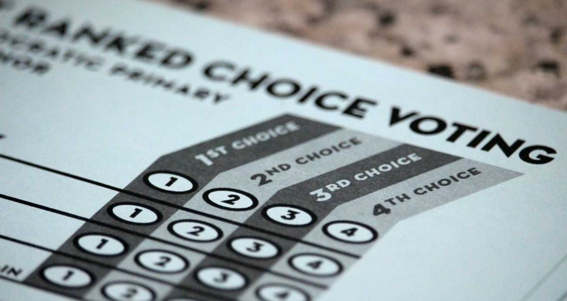 Mass. Voters May Get Ranked Choice Voting on the 2020 Ballot