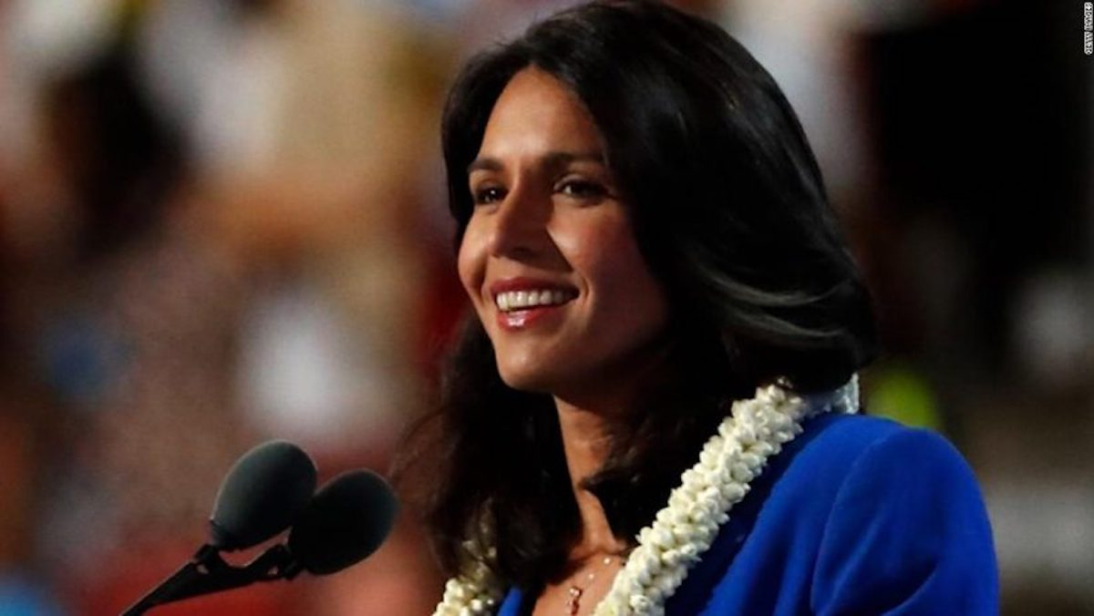 Putting Service Above Self: Tulsi Gabbard Takes Break from Campaign for Military Service
