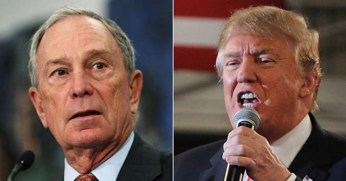 OPINION: Bloomberg vs. Trump 2020 Is So Coke and Pepsi