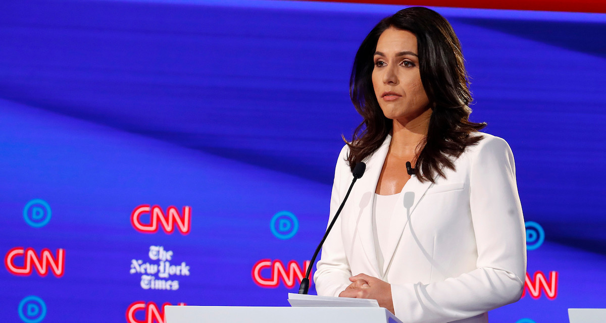 Tulsi Gabbard Ties Joe Biden Among Independents