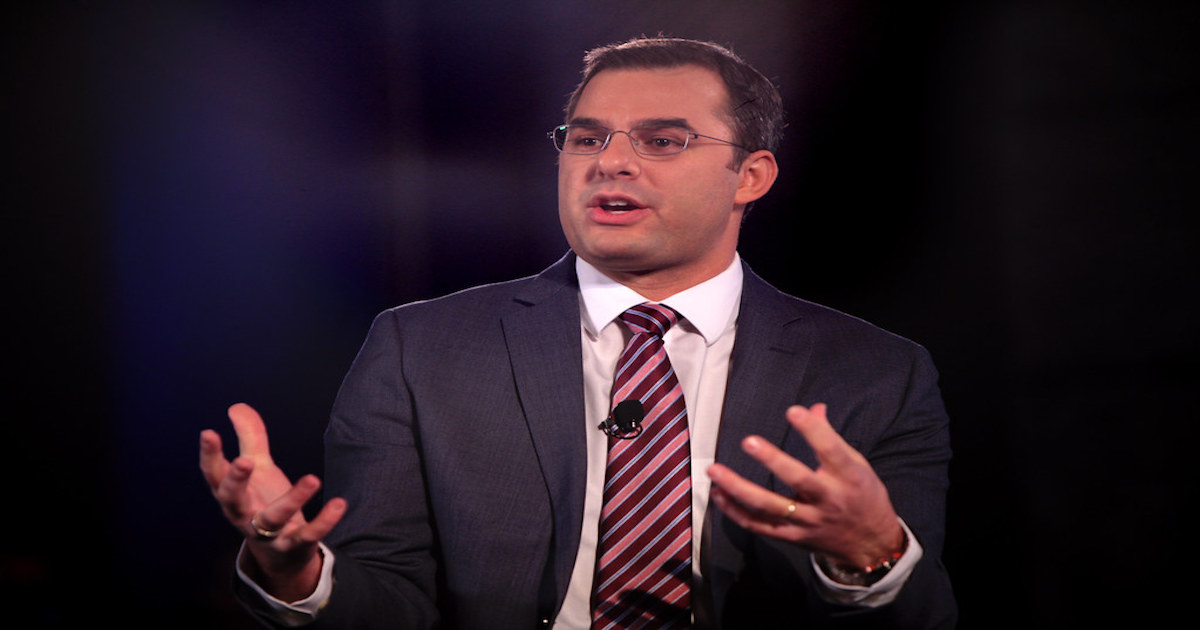 Opinion: Justin Amash Is The Adult They Won't Let On The Debate Stage