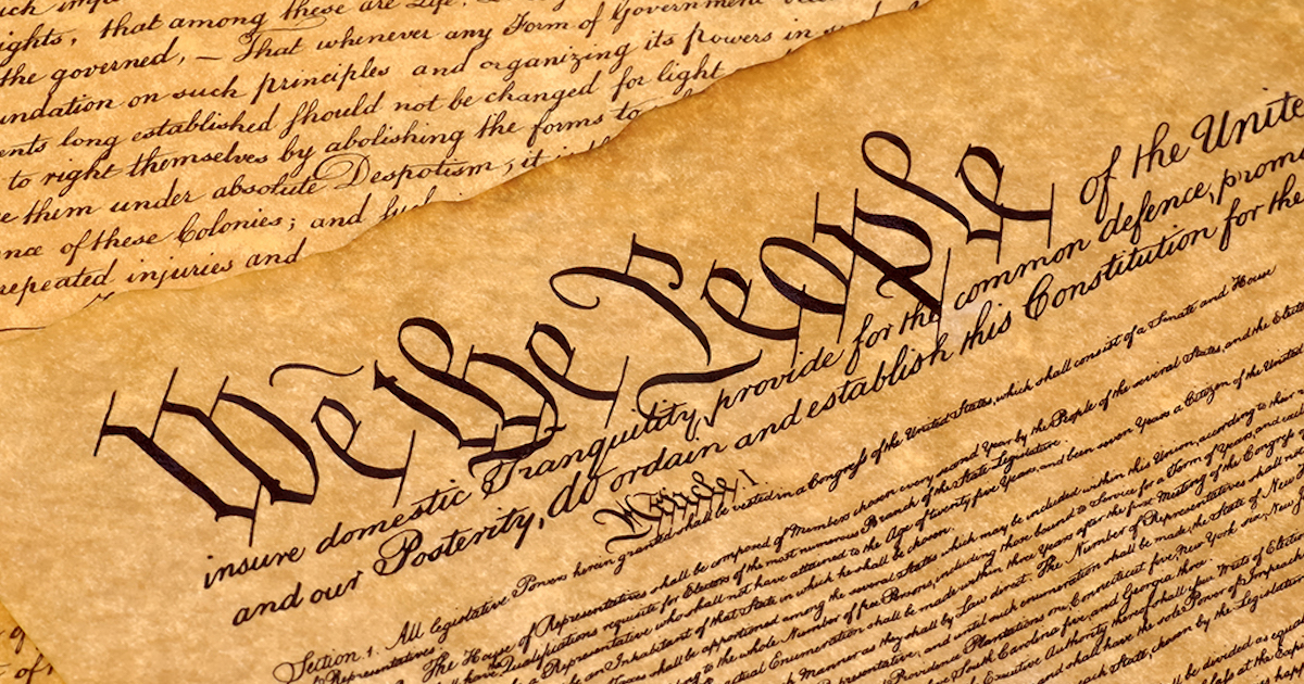 The Constitution: Not As Easy As It Looks