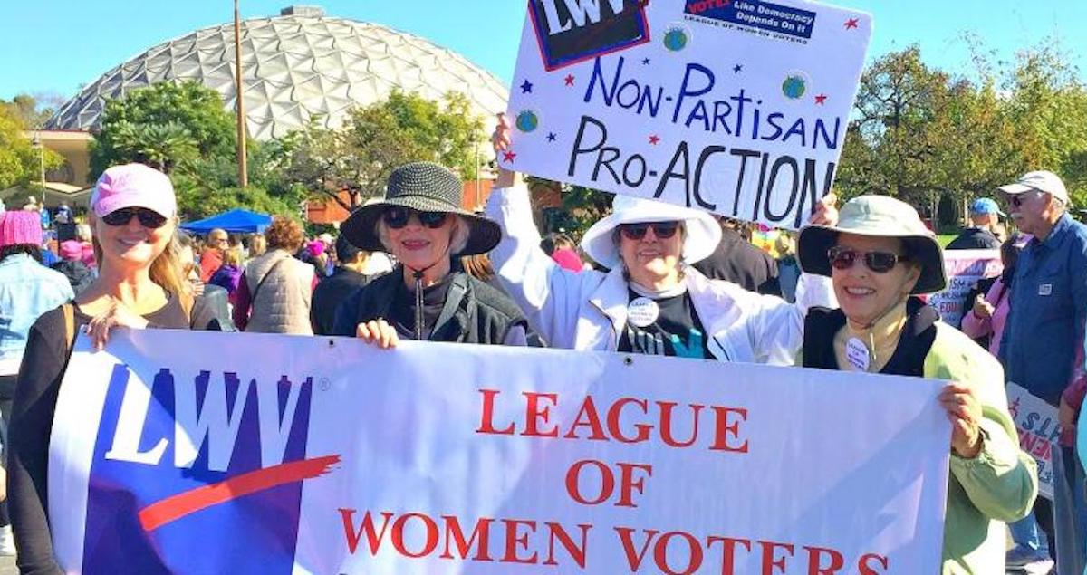 The League of Women Voters is in a League of Its Own