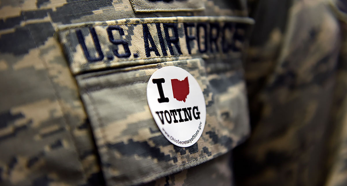 New Study Finds 2020 Election Could Hinge on Military Vote