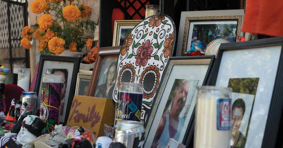 COVID-19 Changes How San Diegans Celebrate Día de Muertos