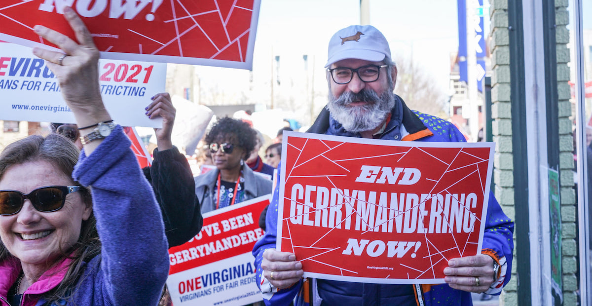 Virginia Voters Overwhelmingly Approve Amendment to End Partisan Gerrymandering
