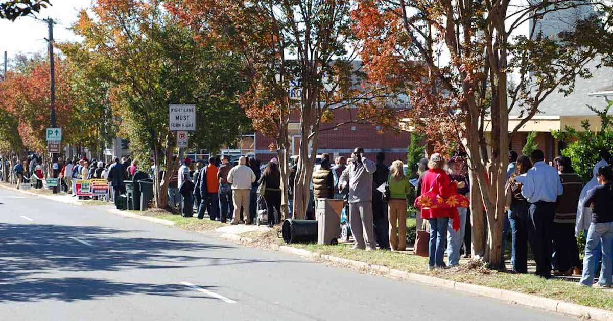 Voting Rights Groups Alarmed as Early Voting Centers Close in Key Georgia County | Independent Voter News