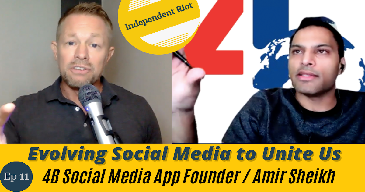 Evolving Social Media to Unite Us (with Amir Sheikh)