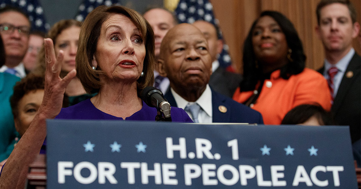 HR 1 Exacts Partisan Political Advantage in Exchange for Desperately Needed Voting Rights