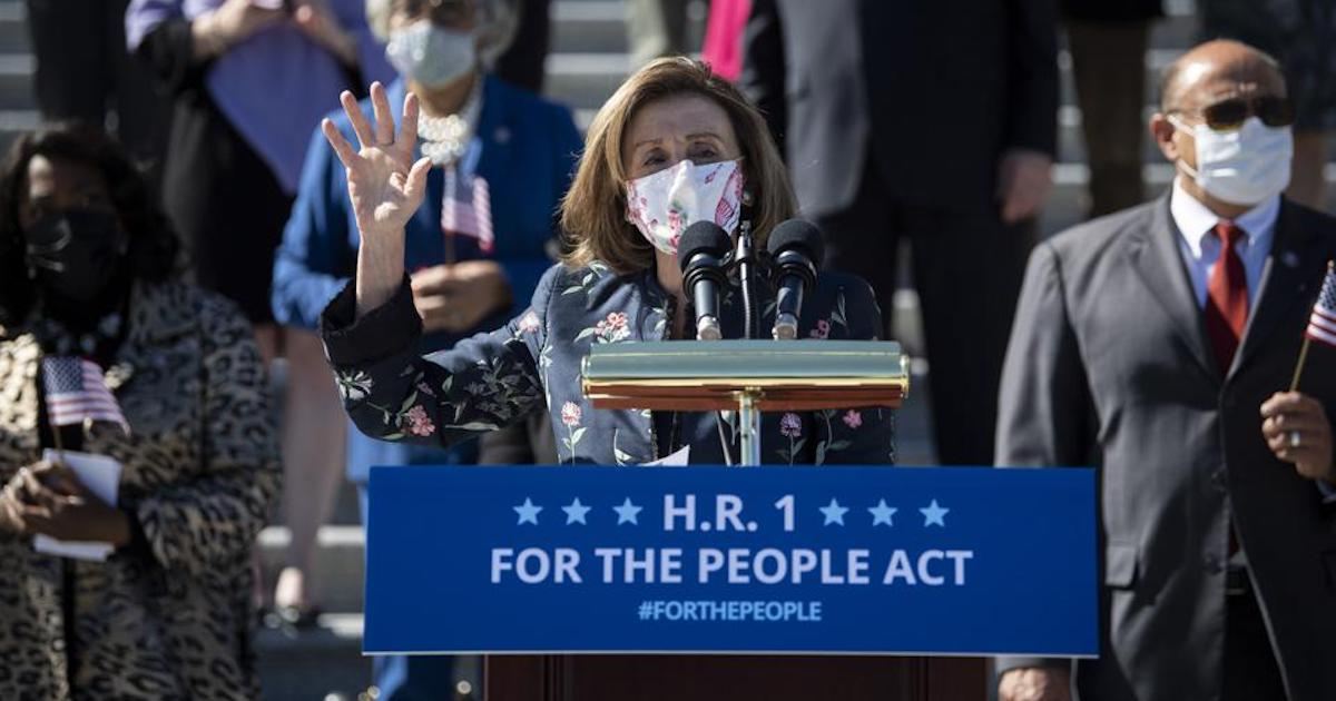 HR1/S1 Hypocrisy: Under The Guise of 'For the People', Democrats Support Voters Rights, But Suppress Voter Choice