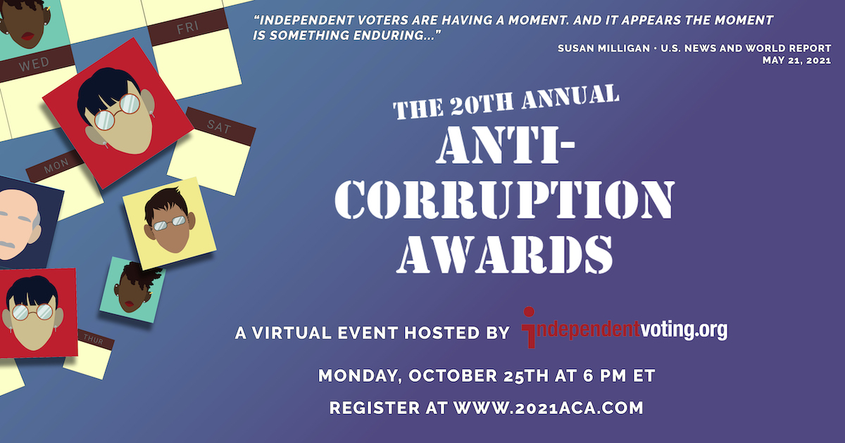 Anti-Corruption Awards to Honor Entrepreneurs Investing in Better Elections