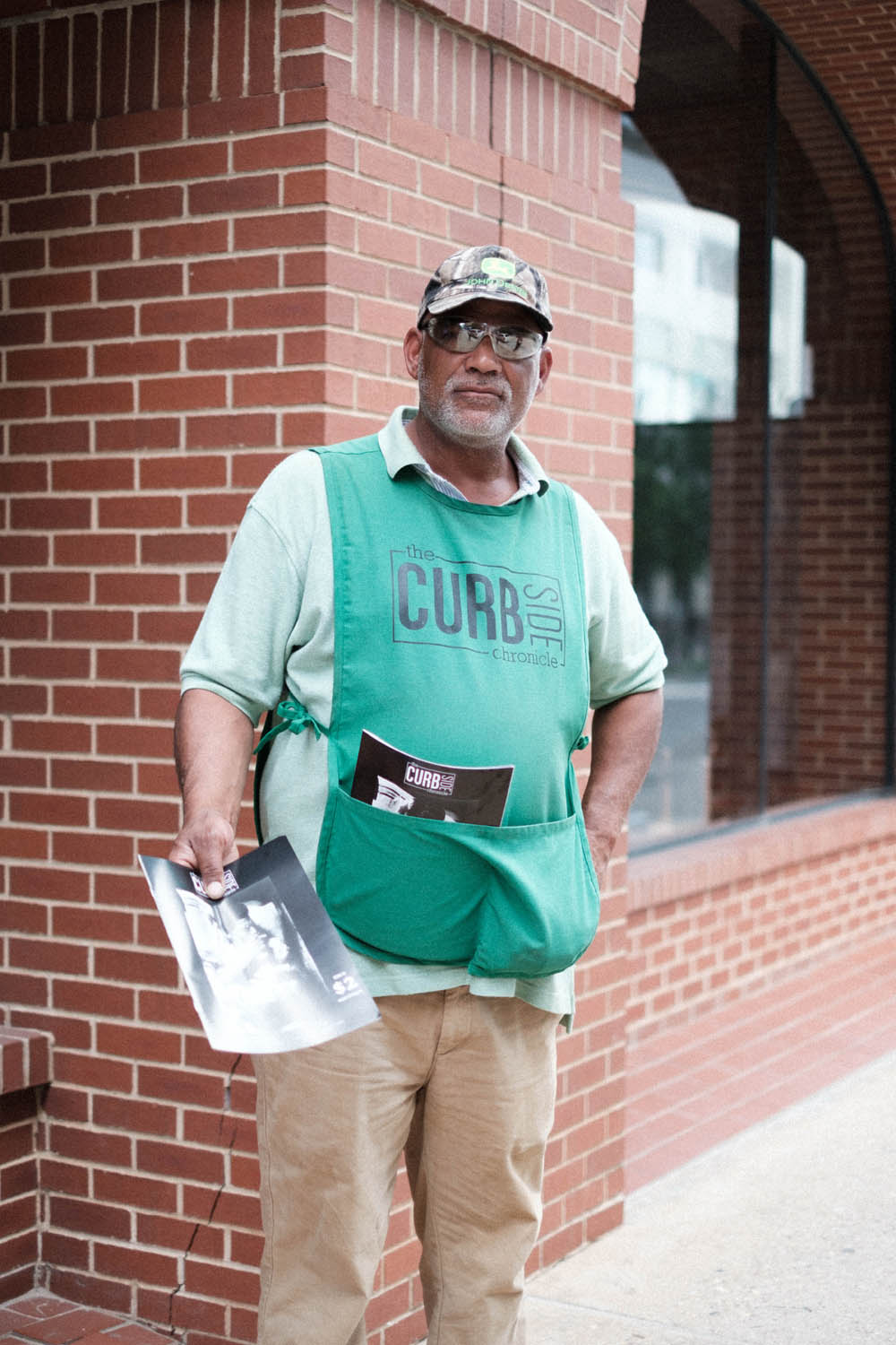 A Curbside Chronicle Vendor Portrait
