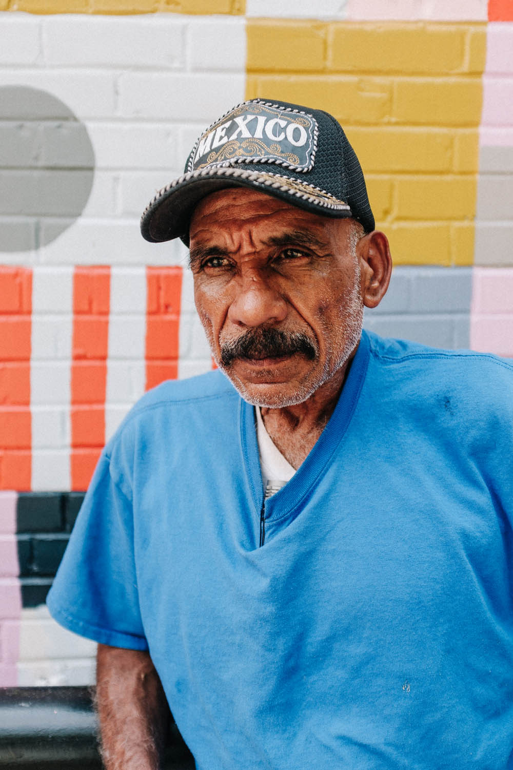 Portrait of a Man in Plaza District of Oklahoma City