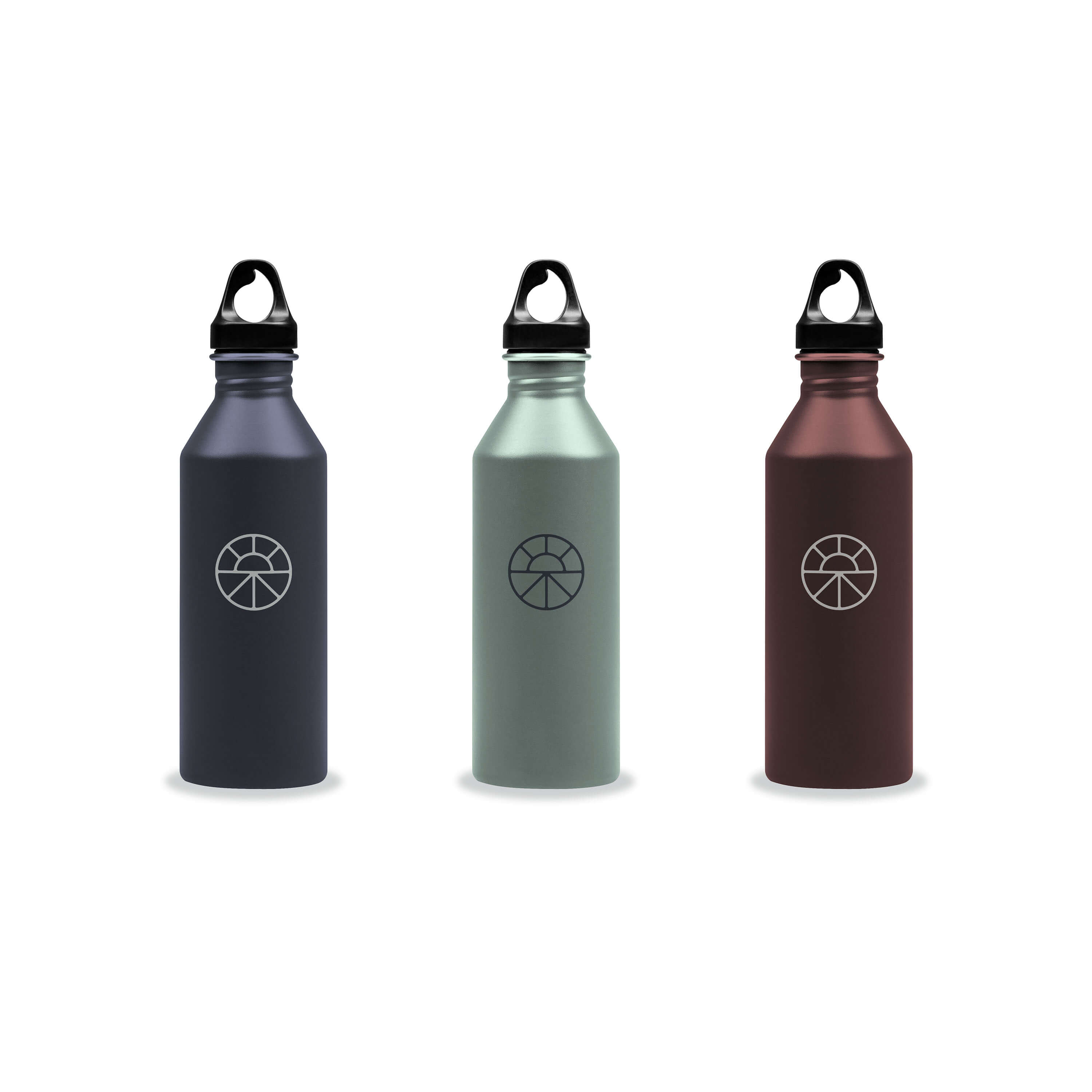 Water Bottles with The Well Logo Mark