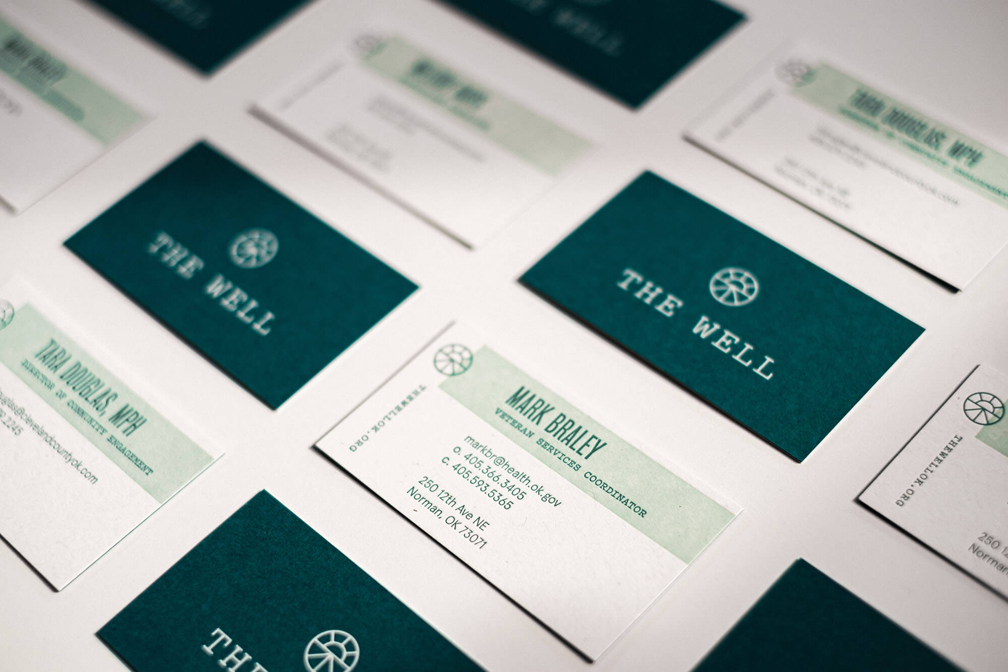 Business Cards for The Well