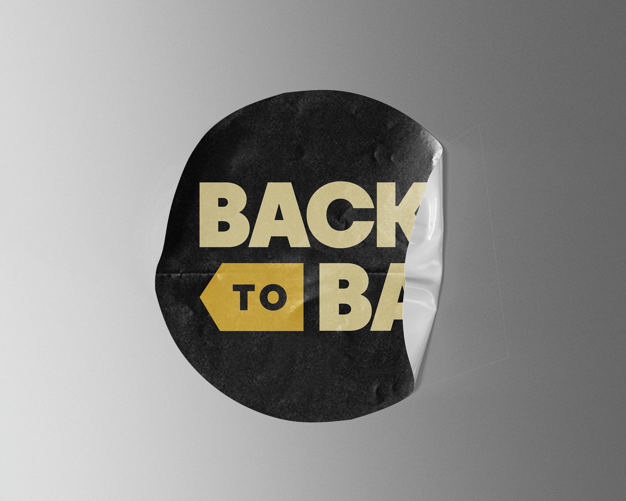 Back to B.A. Sticker