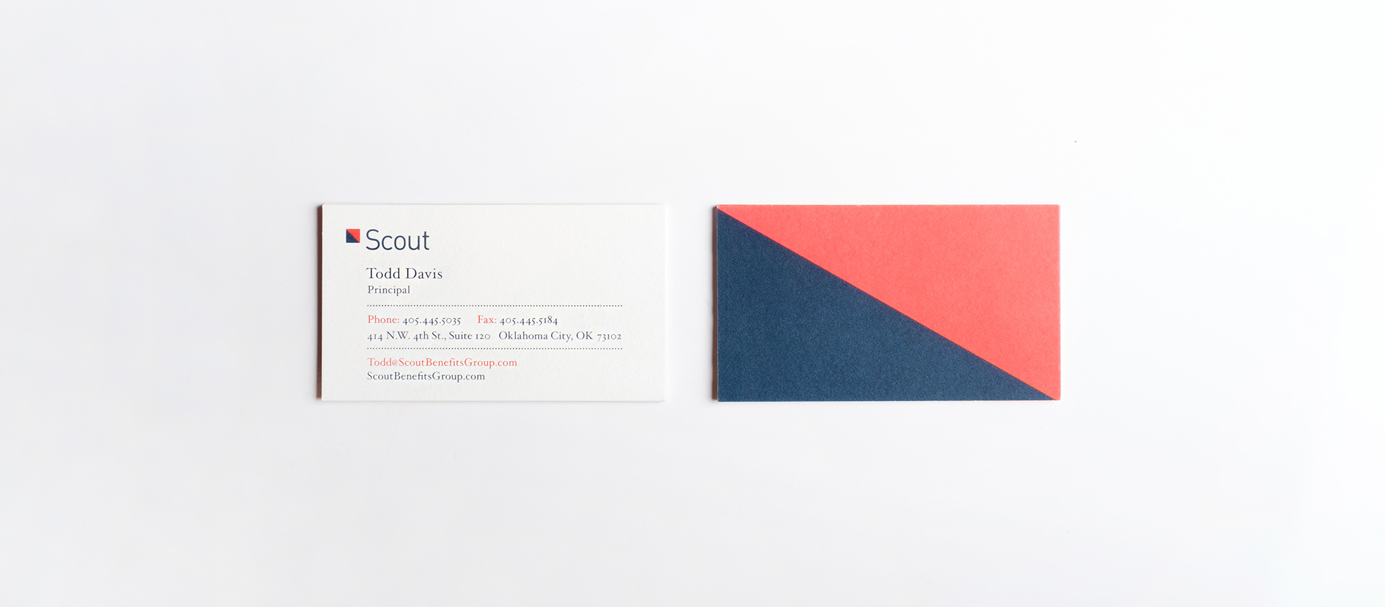 Business Cards, Nautical Flag on back streched to fit card