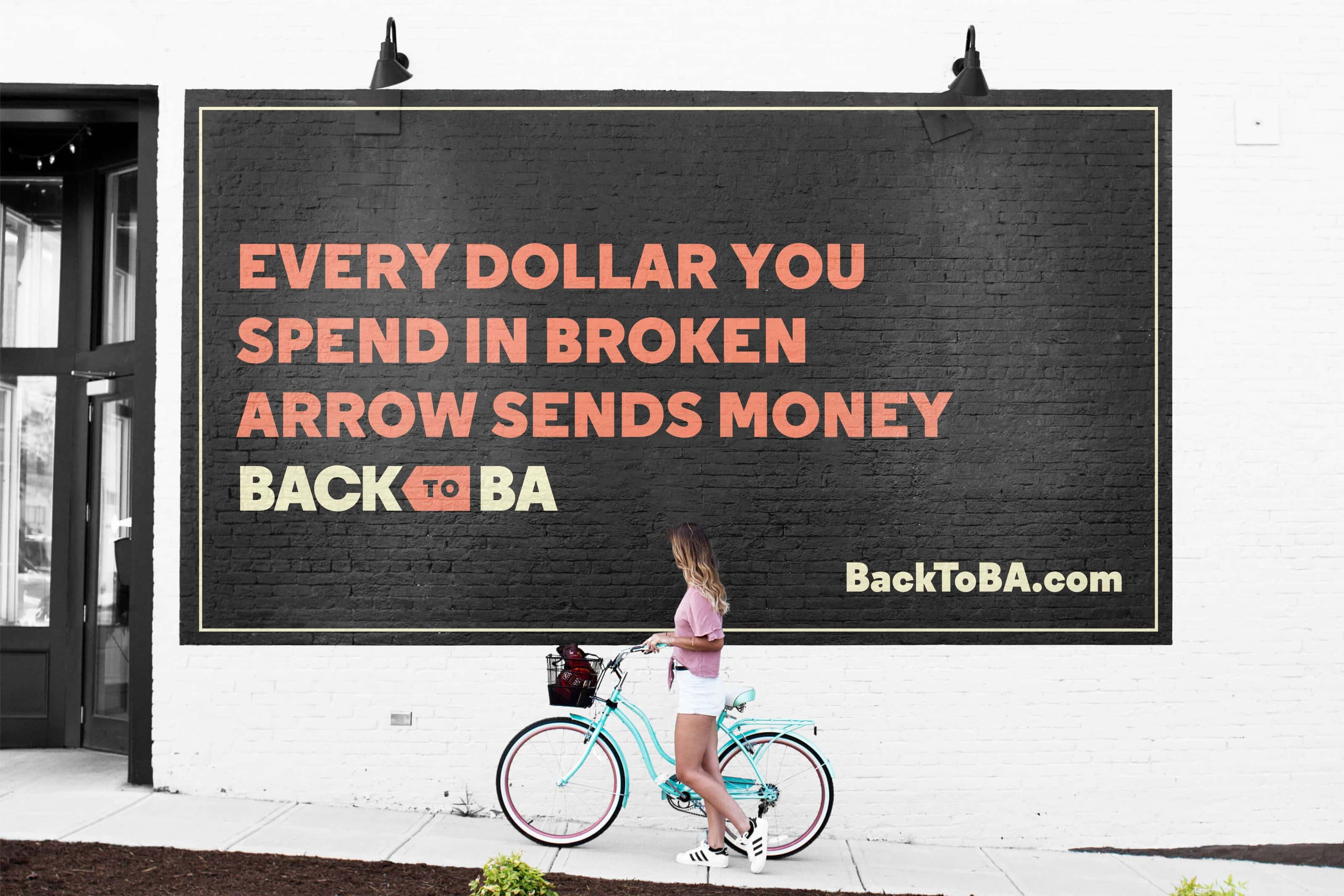 Wall Mural for Back to B.A.