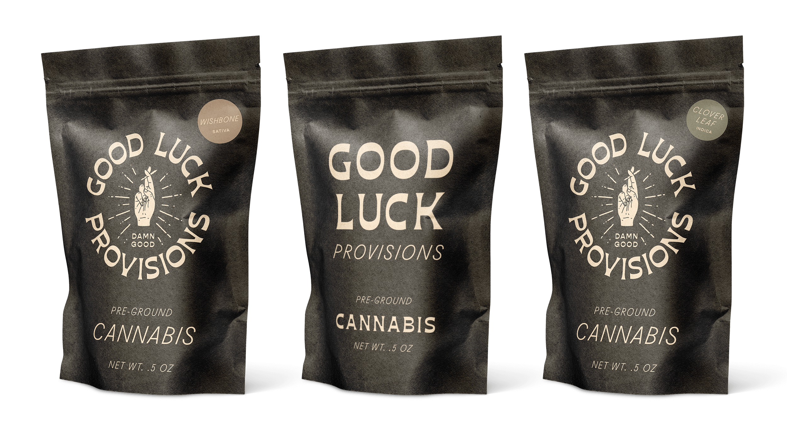 Packaging Bags for Good Luck Provisions
