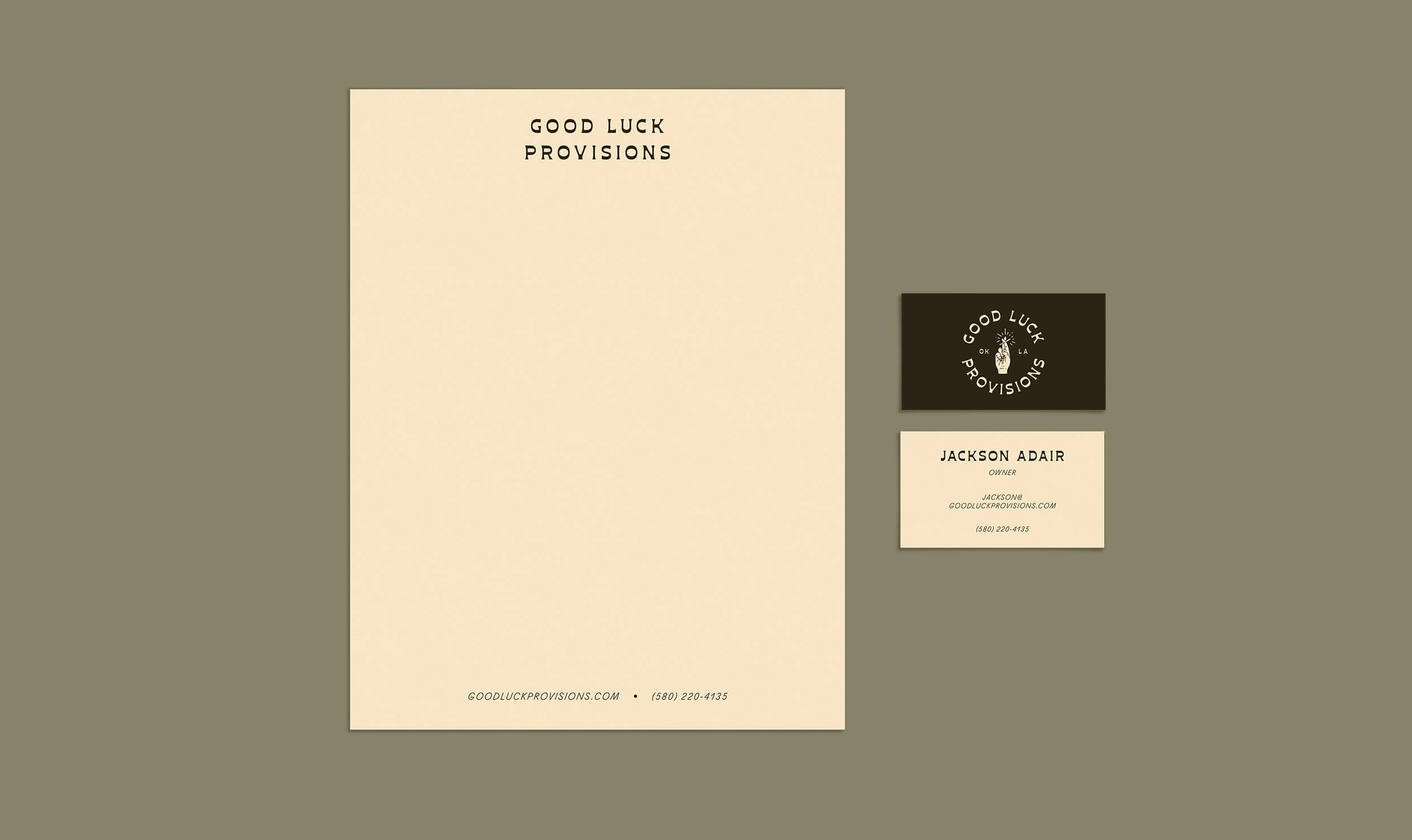 Stationery for Good Luck Provisions