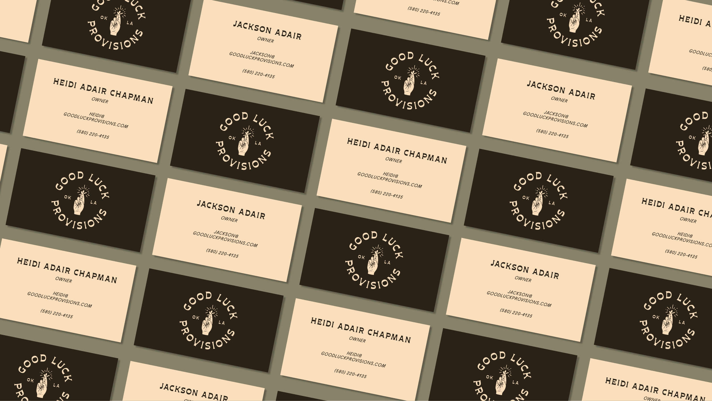 Business Cards for Good Luck Provisions