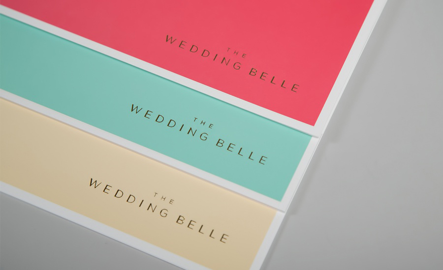 Stationery for The Wedding Belle