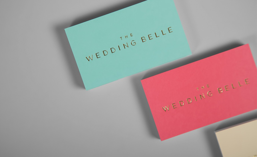 Business Cards for The Wedding Belle