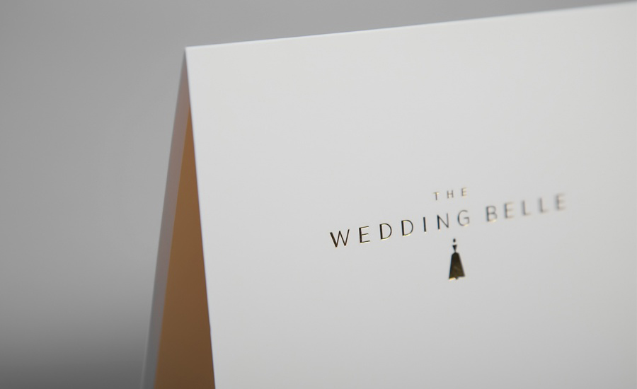 A Thank You Card for The Wedding Belle