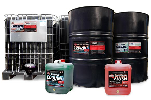 Coolant supply formulated specifically for mining