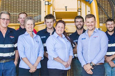 Coxons repair team