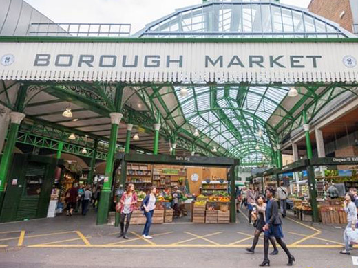 borough market for kids food in london