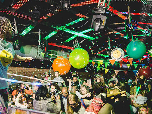 indoor party london best family rave