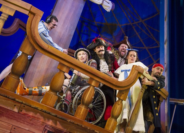 peter pan goes wrong comedy show for kids in london