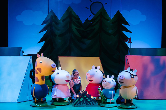 peppa pig best day ever show in london for toddlers