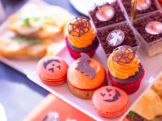 B Bakery halloween afternoon tea for kids in london