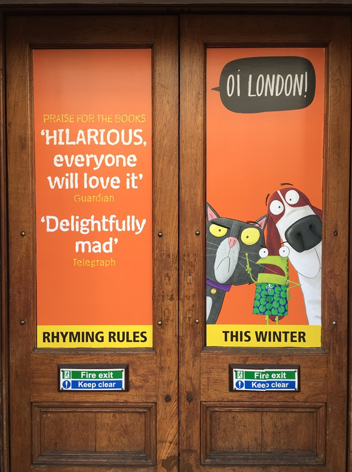 best selling picture book on the west end stage