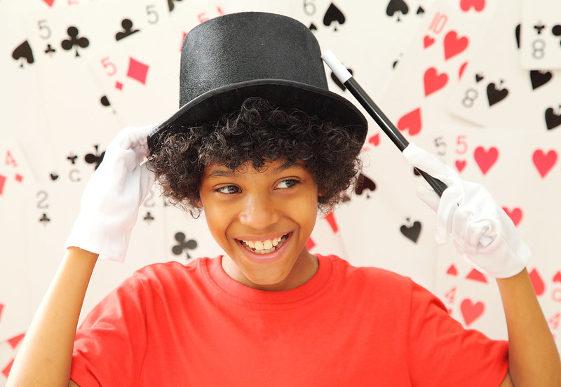 discounted tickets to kids magic workshop