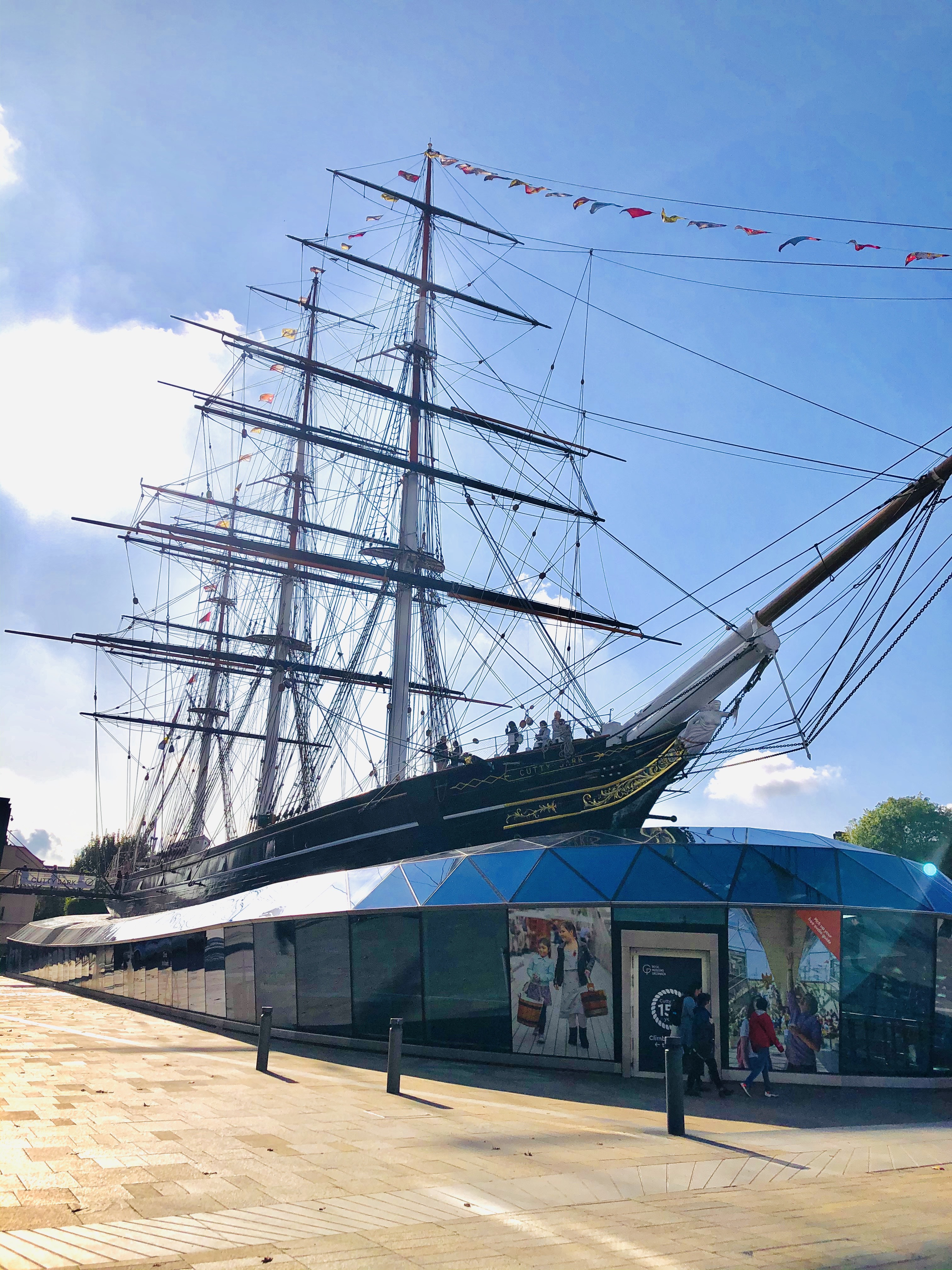 Time to explore the Cutty Sark