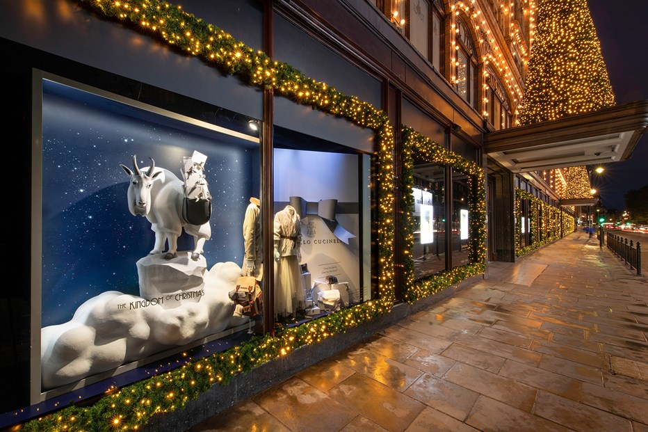 Beautiful Christmas windows