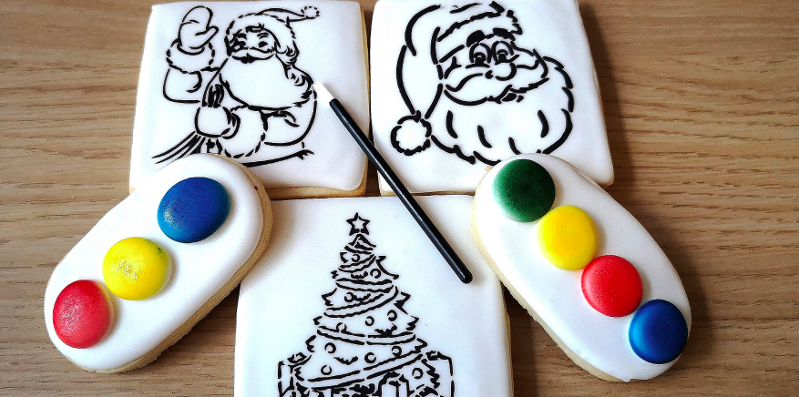 christmas cookie decorating for children