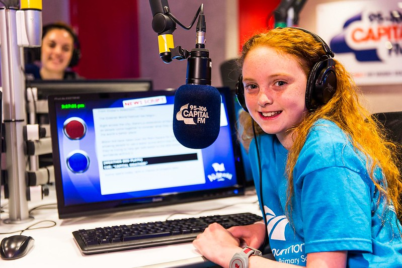 kids radio presenting london at kidzania