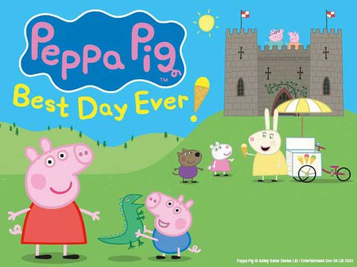 Peppa pig best day ever at southbank centre