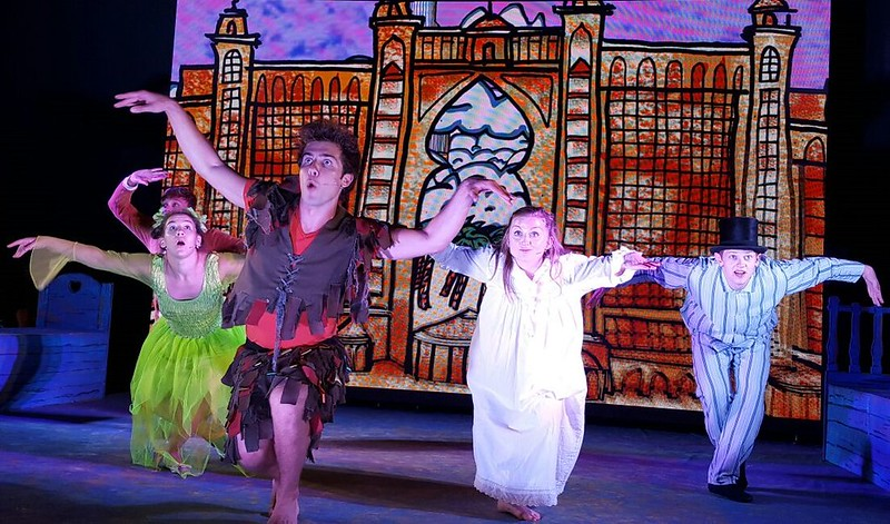 Peter Pan play at Under The Bridge Kids Theatre