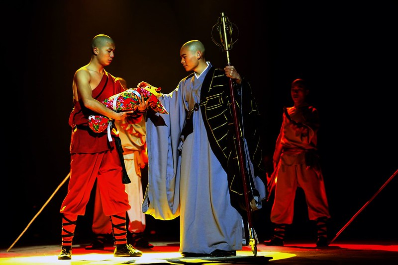 Soul of Shaolin at the stage of London