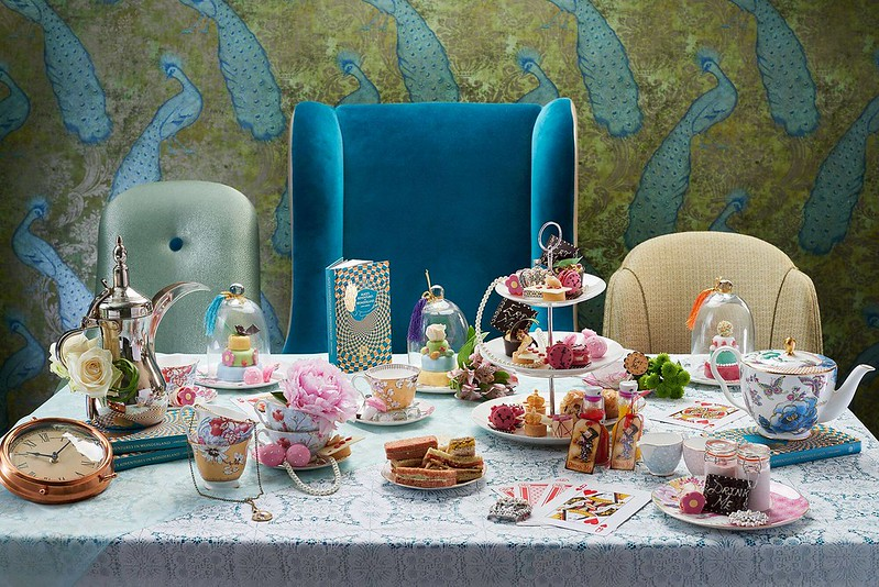 alice in wonderland afternoon tea for families