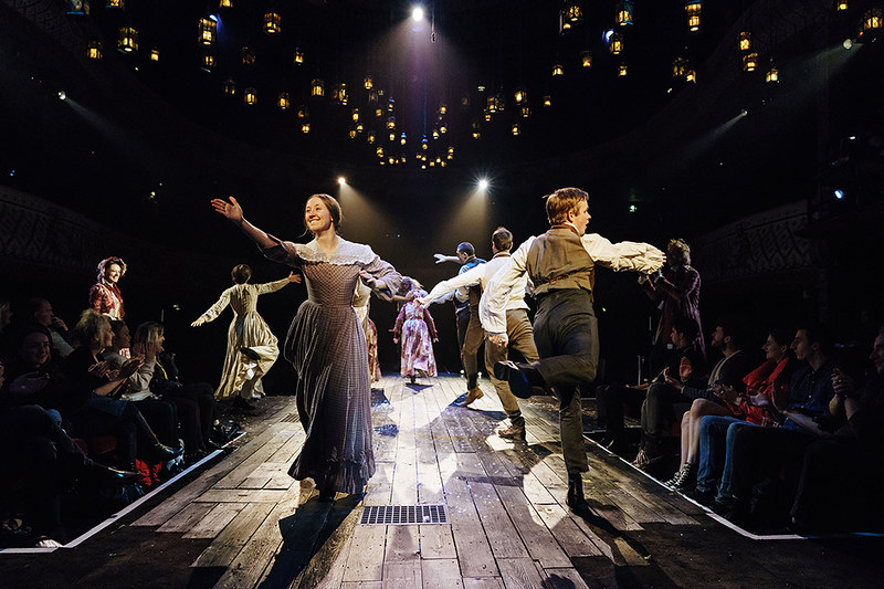 A scene from A Christmas Carol at London Palladium